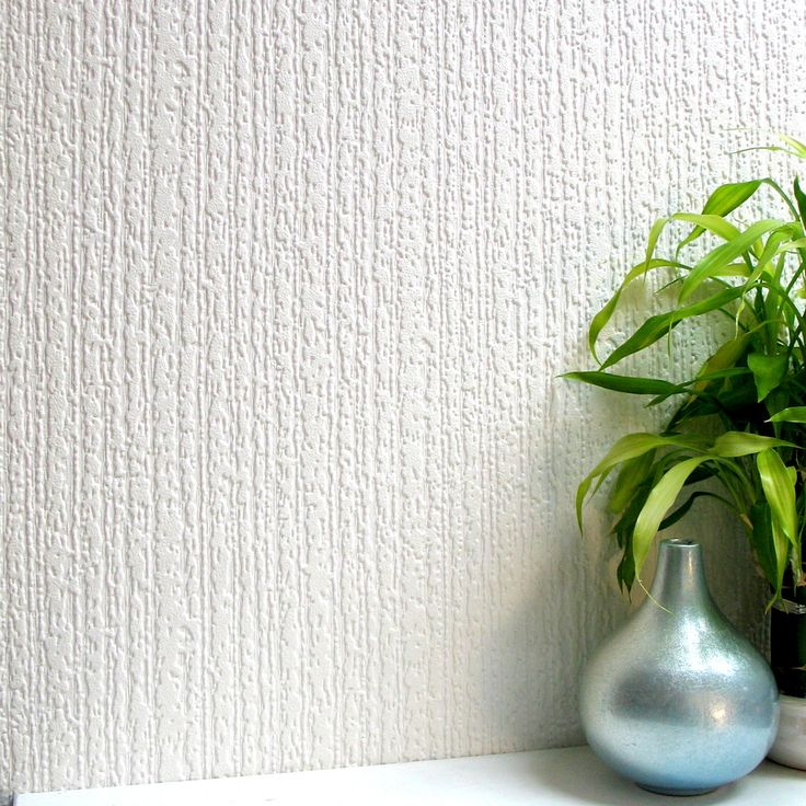 Brewster Wallcovering Anaglypta Paintable Vinyl Paintable Textured Brushstroke 3-D Wallpaper