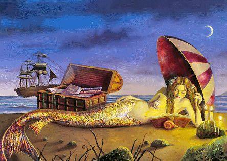 Animaciones con Sirenas Gratis.