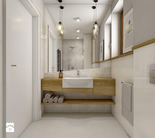 Aranżacje wnętrz - Łazienka: Dom w Opolu - Średnia łazienka, styl nowoczesny - WERDHOME. Przeglądaj, dodawaj i zapisuj najlepsze zdjęcia, pomysły i inspiracje designerskie. W bazie mamy już prawie milion fotografii!