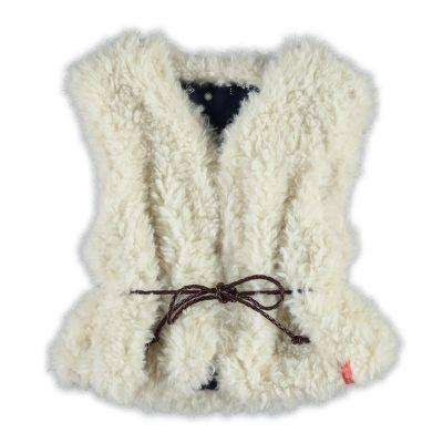 Noppies Bodywarmer| Winter collectie 2015 | www.kleertjes.com #kinderkleding #babykleding #kids #fashion #fake #fur #trends #nepbont #imitatiebont