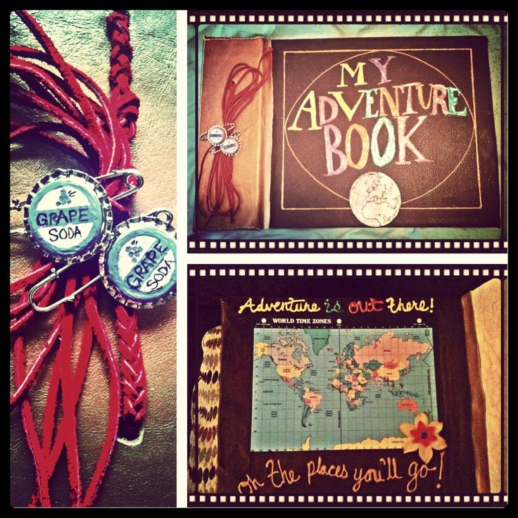 Diy Up! Inspired adventure book for a Disney Day disney