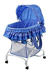 Dream On Me, Layla 2 in 1 Bassinet To Cradle, Blue