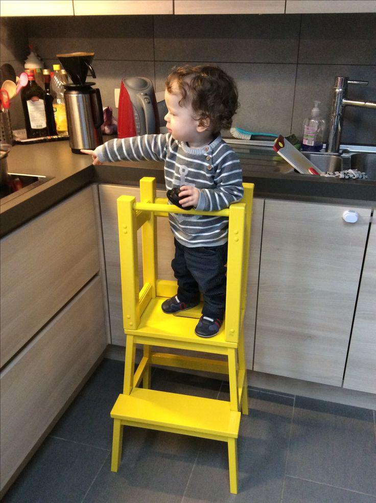 Leertoren - learning tower  DIY Ikea
