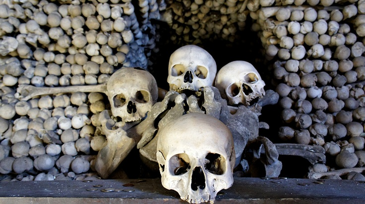Bone Church at Sedlec, Kutna Hora, Czech