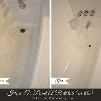 DIY Painted Bathtub Follow-Up:  Your Questions Answered