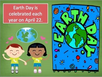 Free.   Earth Day PowerPoint, A History of Earth Day