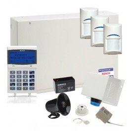 Bosch Solution 6000 Alarm System with 3 x Gen 2 Quad Detectors+Prox Code Pad