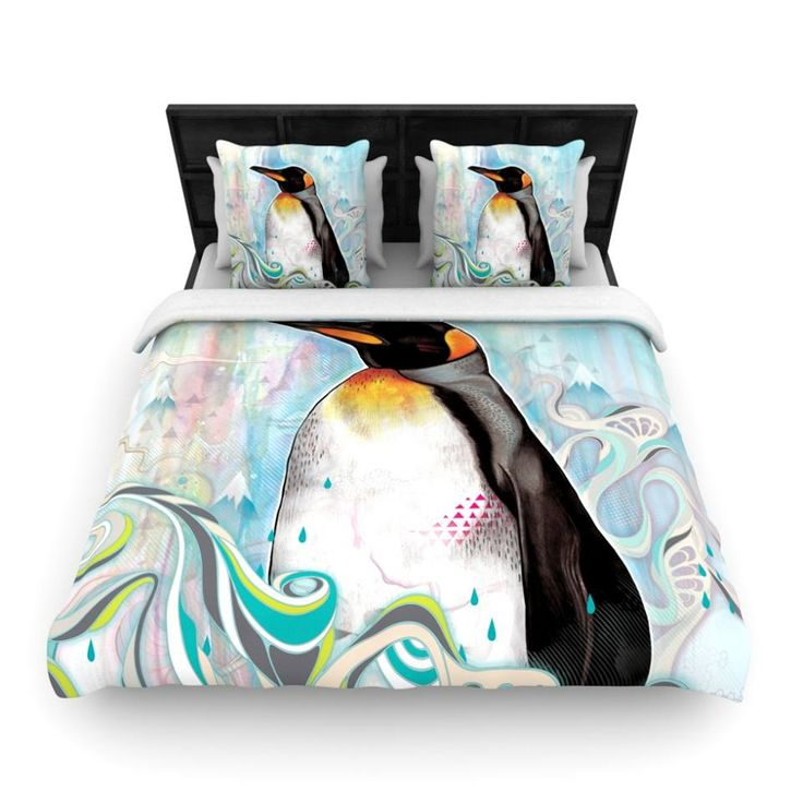 For the penguin fans! #penguins #bedroom #home Finally a bedding set that doesn't look like it's only for a little kid!