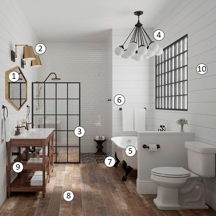 669 Best Bathroom Inspiration Images On Pinterest