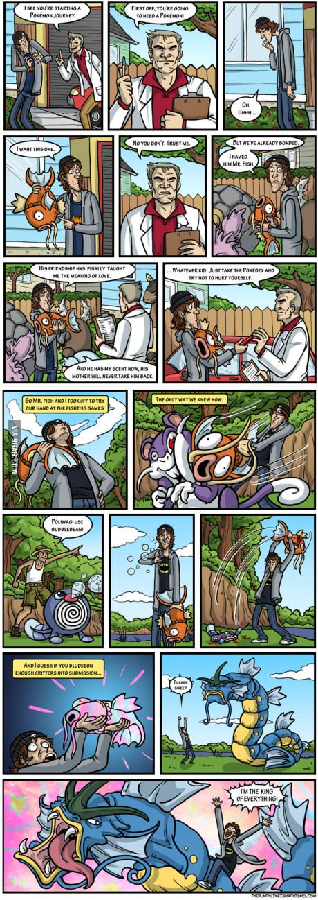 The true secret to being a Pokemon master!