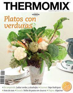 Revista Thermomix nº41 - Platos con verduras