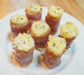【お子様】ポテトサラダ☆ベーコン巻き by COOK☆ママ [クックパッド] 簡単おいしいみんなのレシピが273万品