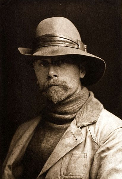 Edward Curtis ... the man who photographed many of the Native American's on this board.