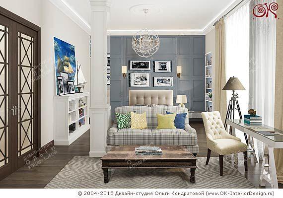 Дизайн комнаты сына - http://interior-design.pro/ru/dizayn-detkoy-komnaty-malchika-devochki