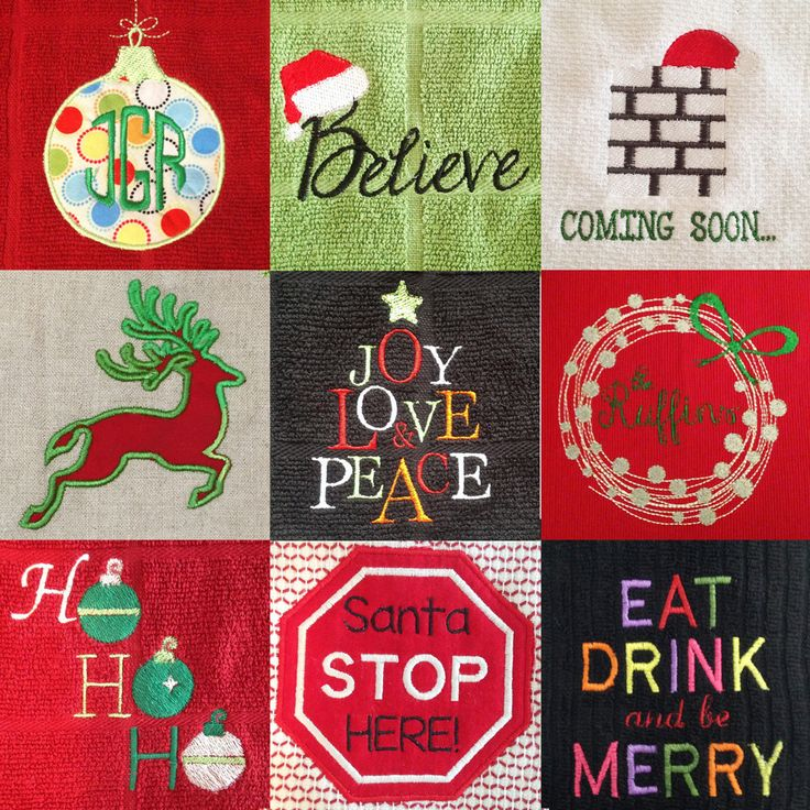 Best images about christmas machine embroidery designs