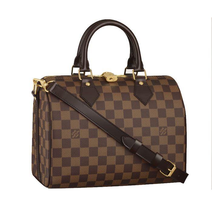 Louis Vuitton Handbags #Louis #Vuitton #Handbags - Speedy 25 With Shoulder Strap N41181 - $230.99