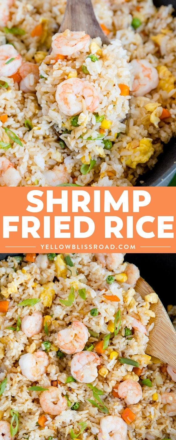 Shrimp Fried Rice Recipe Main Dish Pinterest Fried Rice