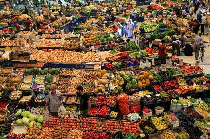 Konya kadınlar pazarı