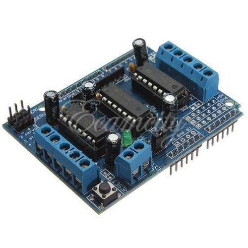 Motor-Drive-Expansion-Shield-Board-Module-L293D-For-Arduino-Duemilanove-Mega-UNOEbay $4