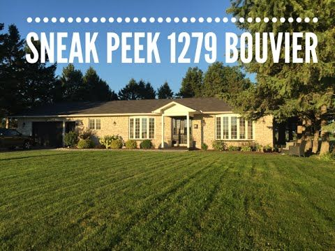 Sneak Peek at 1279 Bouvier - beautiful bungalow - Ottawa Real Estate - Homes for sale