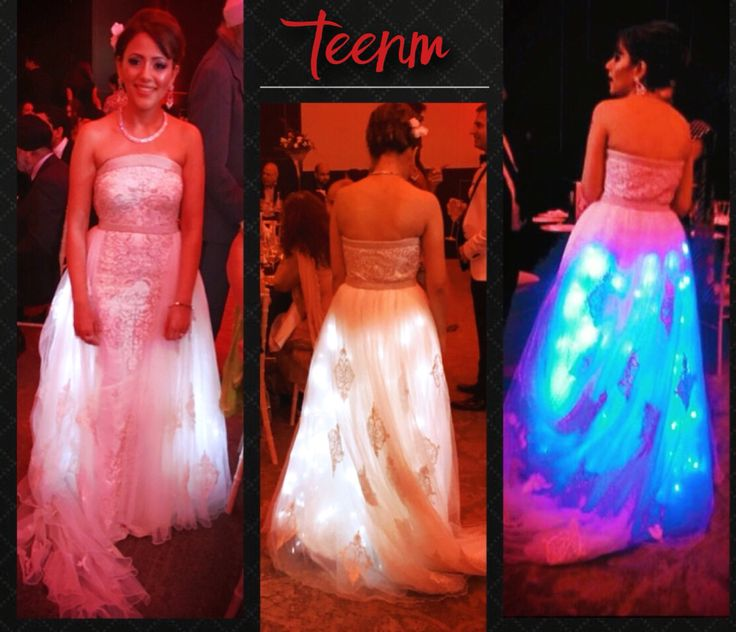 LED Light Dress