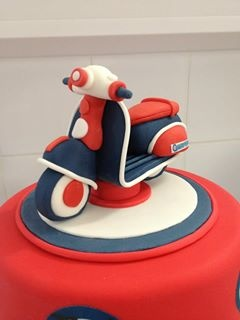 Scooter cake