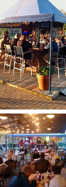 Scotts Fish Restaurant, Shelter Cove, Hilton Head Island, South Carolina - Hurricane Harry's Wharf Bar
