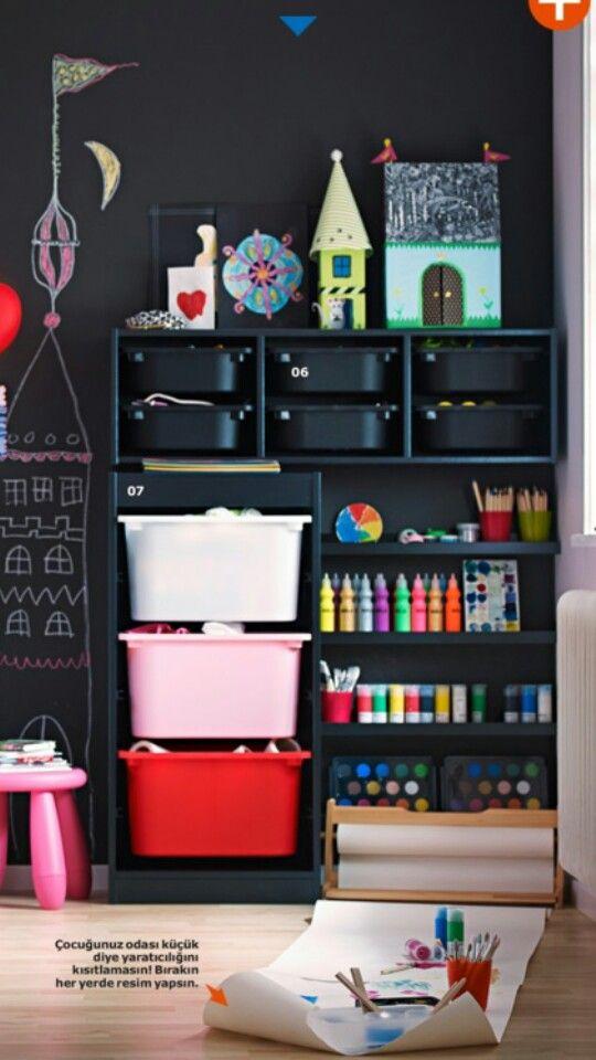 IKEA storage for toys