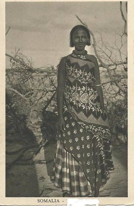 Somali woman in early 1900s