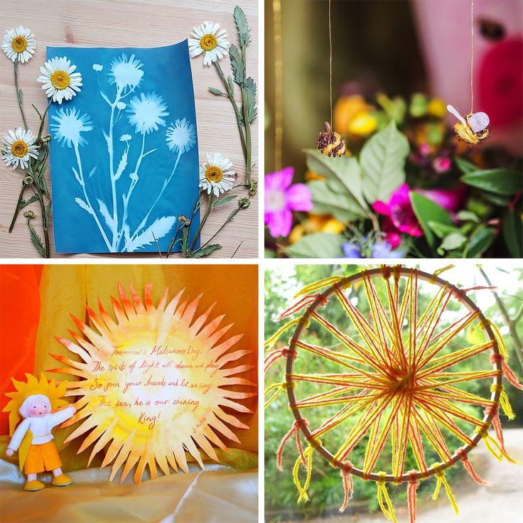 midsummer crafts myriad natural toys & crafts in 2020