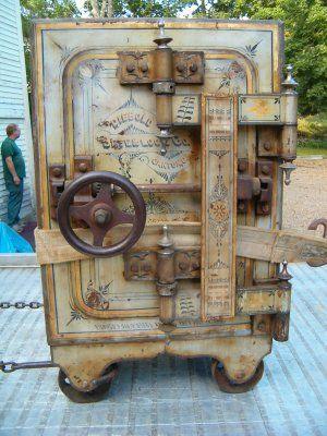 1890 antique Diebold safe | StashVault