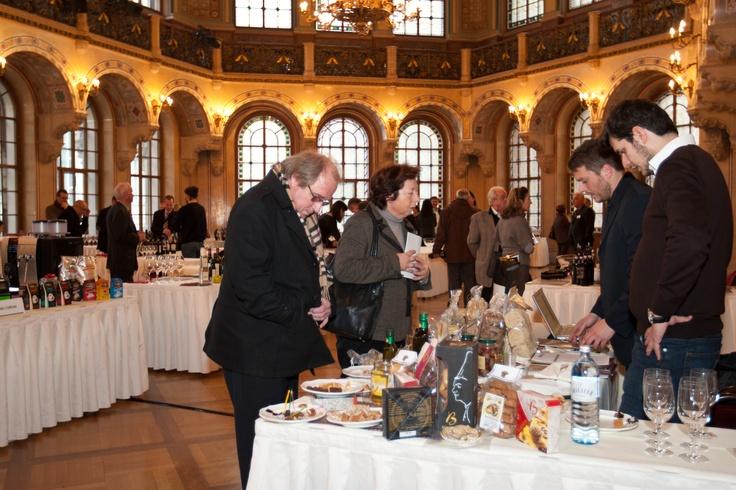 Vienna - durante la fiera  Wien - during the trade fair