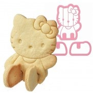 3D Hello Kitty cookie cutters