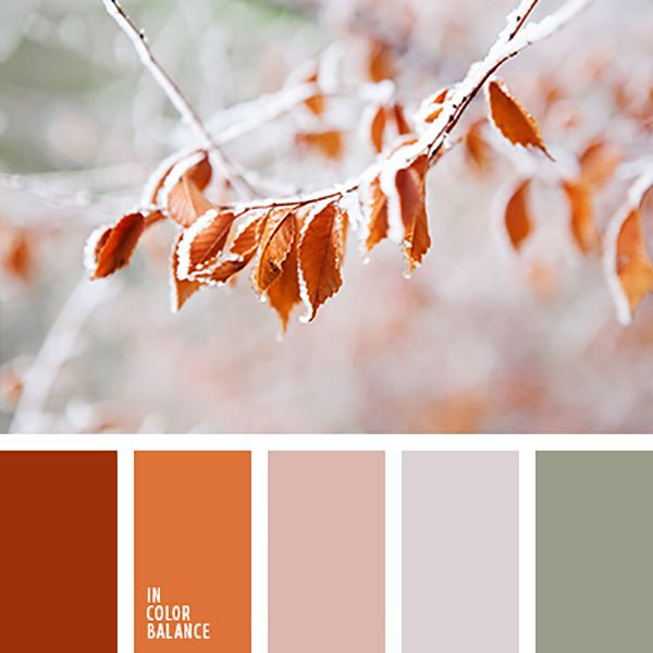 Краски осени: 23 цветовые палитры - Ярмарка Мастеров - ручная работа, handmade