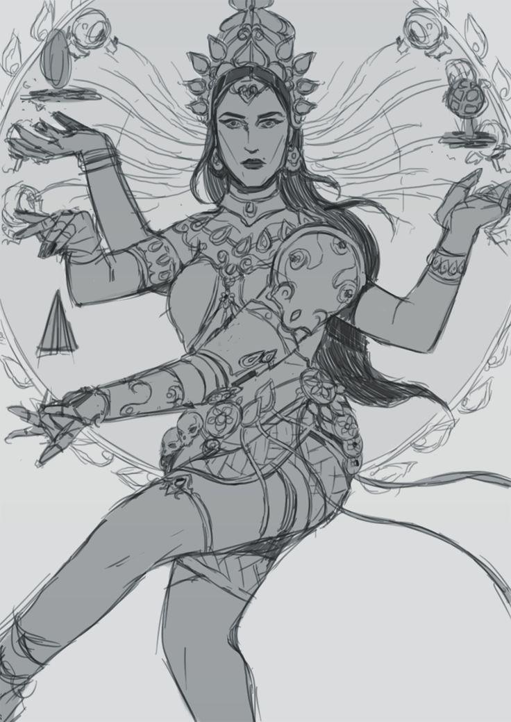 a wip: Symmetra Nataraja