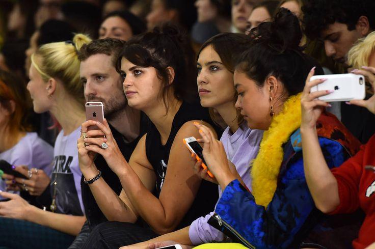 Pixie Geldof et Alexa Chung au défilé Ashley Williams