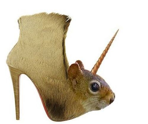 Squirrel Boot : 15 Bizarre-Looking Shoes Nobody Should Ever Wear | TOAT