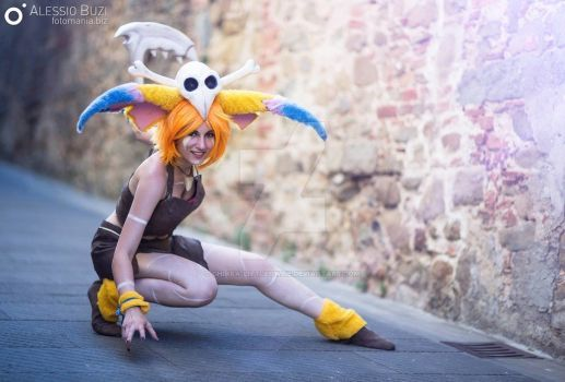 Gnar cosplay from League of Legends by Chiara-LittleOwlie