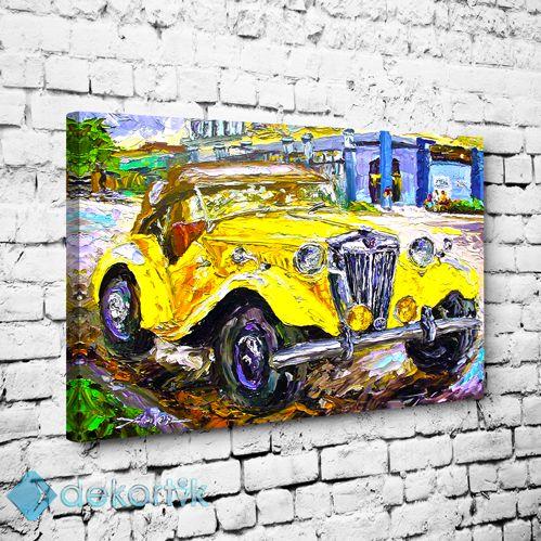 Car Oil Tablo #çocuk_odası_tabloları #genç_odası_tabloları