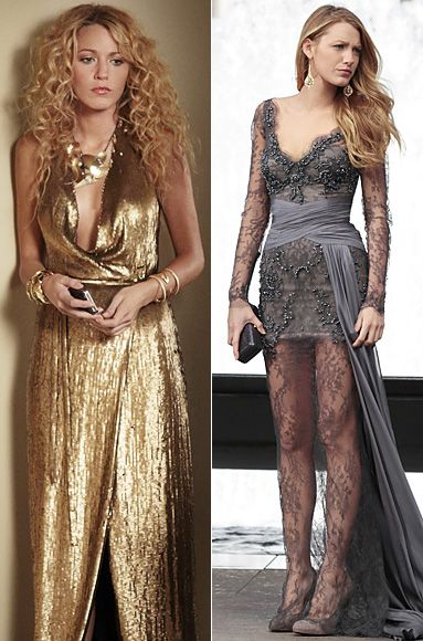 love the dress on the right and love Blake Lively!