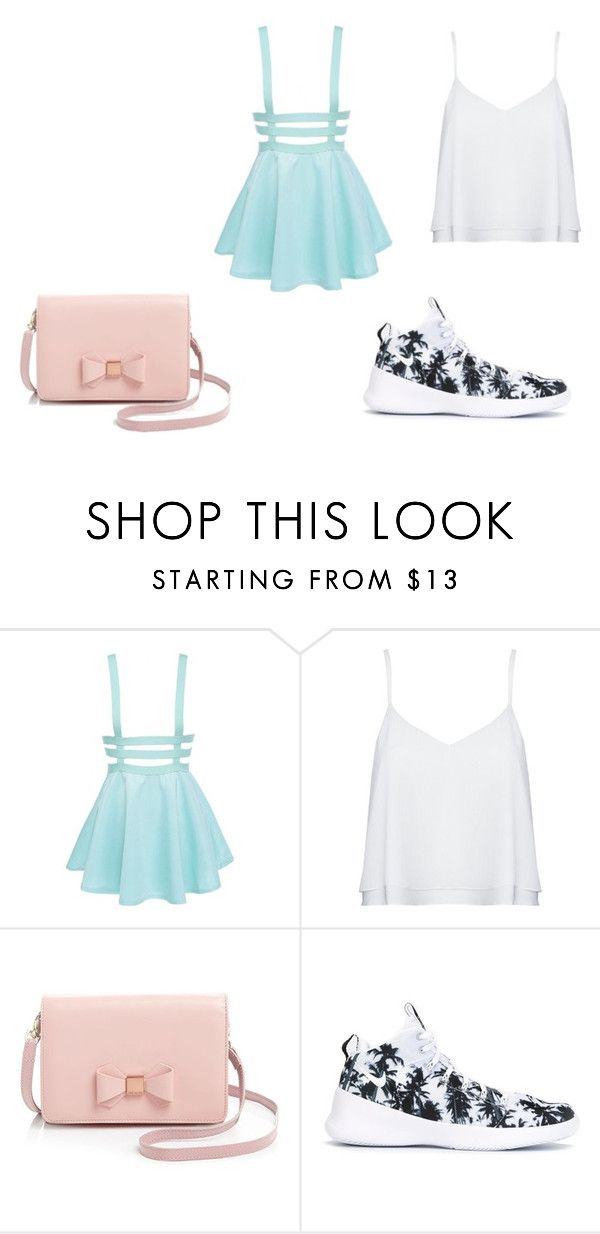 """""""summer"""" by princess3382123 on Polyvore featuring Alice + Olivia, Ted Baker and NIKE"""