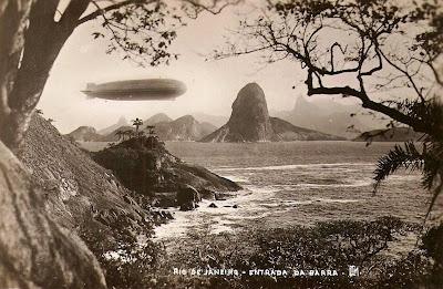 Antigo cartão postal - Rio De Janeiro, 1920s