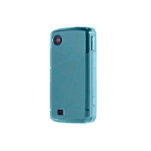 OEM Verizon LG Chocolate Touch VX8575 High Gloss Silicone Case - Blue