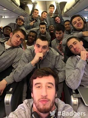 Men's Basketball selfie