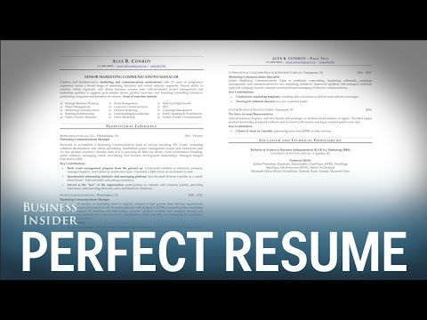 174 best Portfolio Development images on Pinterest - youtube how to write a resume