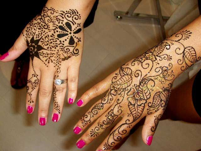Mehndi For Small Girl : Small henna tattoo designs design heena indian