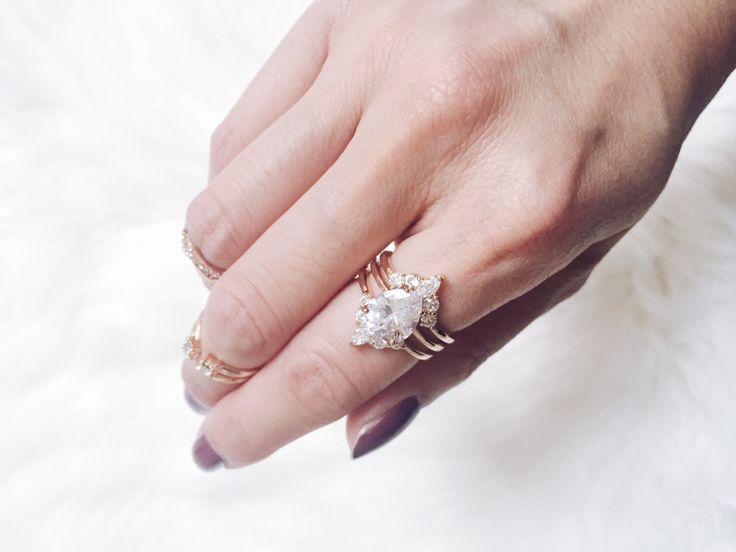 This 3-piece ring is everything.