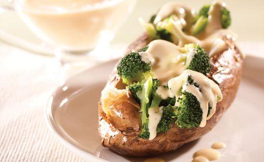 Epicure's Broc 'n Cheese Dinner Jacket Potatoes