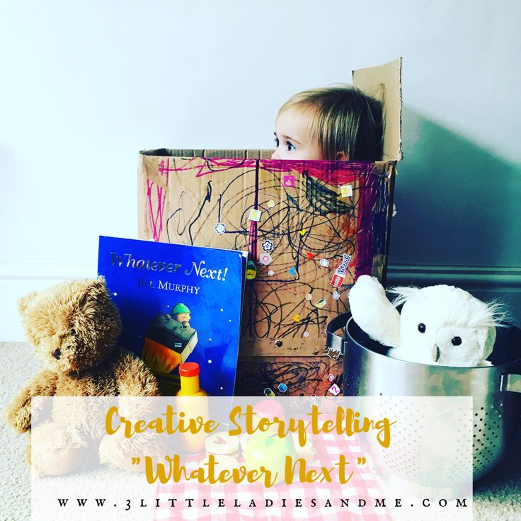 """Do your children love reading? Are you looking for a way to creatively engage your toddler or preschooler in books? I thought I'd share how we have been using role play and imagination to bring one of our favourite books to life, """"whatever next"""" by Jill Murphy. This is a great toddler or preschool activity that you can do at home with this book or your little ones favourite book. Click on the link below to find out how:"""