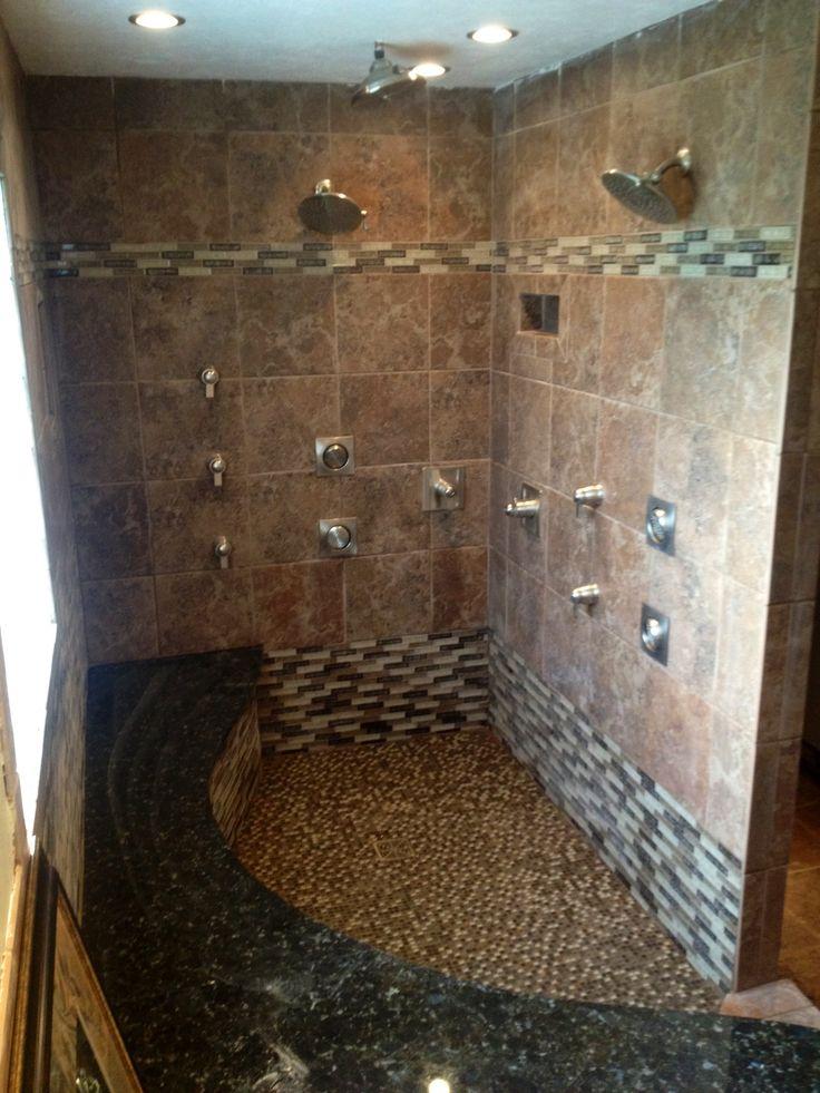 Custom Master Bathroom Complete With A Whirlpool 10 Jet Tub Custom
